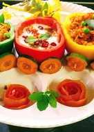 टोमेटो चिल्ली पुलाव (tomato chilli pulao recipe in hindi)