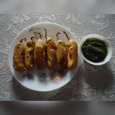 मिर्ची वड़ा (Mirchi Vada recipe in Hindi)