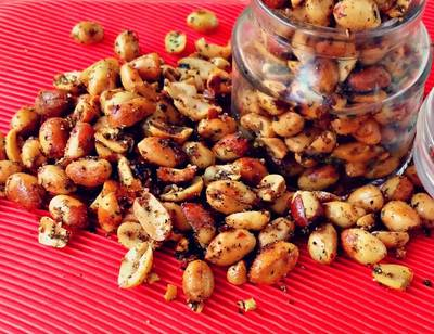 मूंगफली मसाला