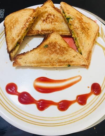 पोटैटो पीस सैंडविच