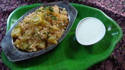 साबूदाना खिचड़ी (Sabudana khichdi recipe in hindi)