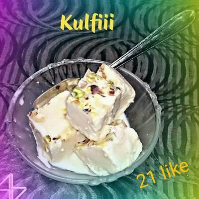 मेवा मलाई कुल्फी (Meva Malai Kulfi recipe in hindi)