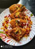 हांडवो चाट (Handvo chaat recipe in hindi)