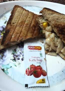 मैकरोनी पास्ता सैंडविच