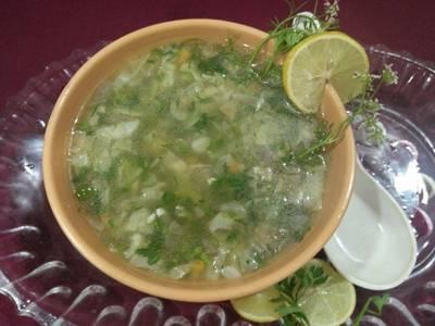 लेमन एंड कोरिएंडर सूप
