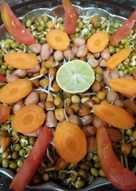 स्प्राउट सैलेड (sprouts salad recipe in hindi)