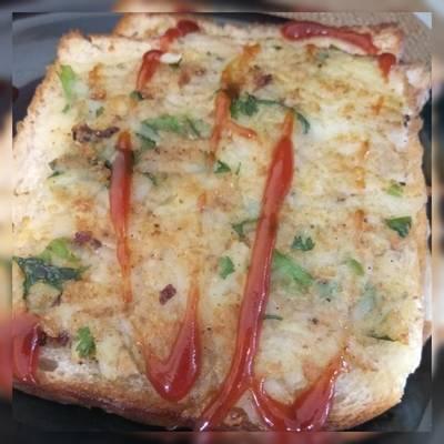 ओपन आलू सैंडविच