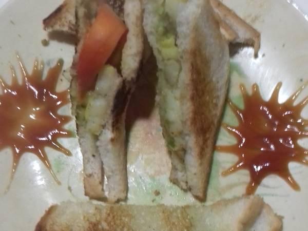 वेजिटेबल सैंडविच