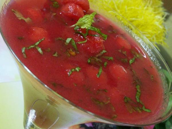 वाटरमेलन गैजपेचो सूप