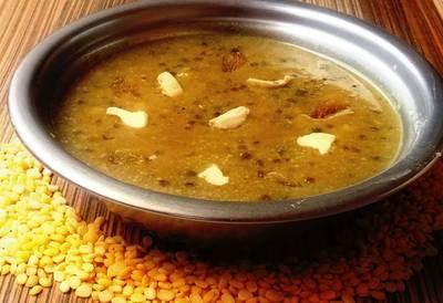 मूंग दाल पायसम (Moong Dal Payasam recipe in hindi)