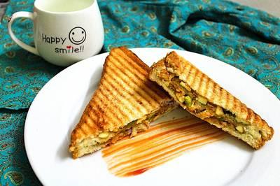 मुंबई मसाला टोस्ट सैंडविच