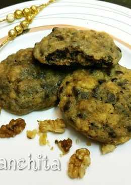 चॉकलेट चिप, बटरस्कॉच, बादाम कुकीज (अंडा रहित)