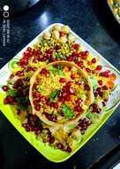 स्प्राउट्स कटोरी चाट (sprouts katori chaat recipe in hindi)