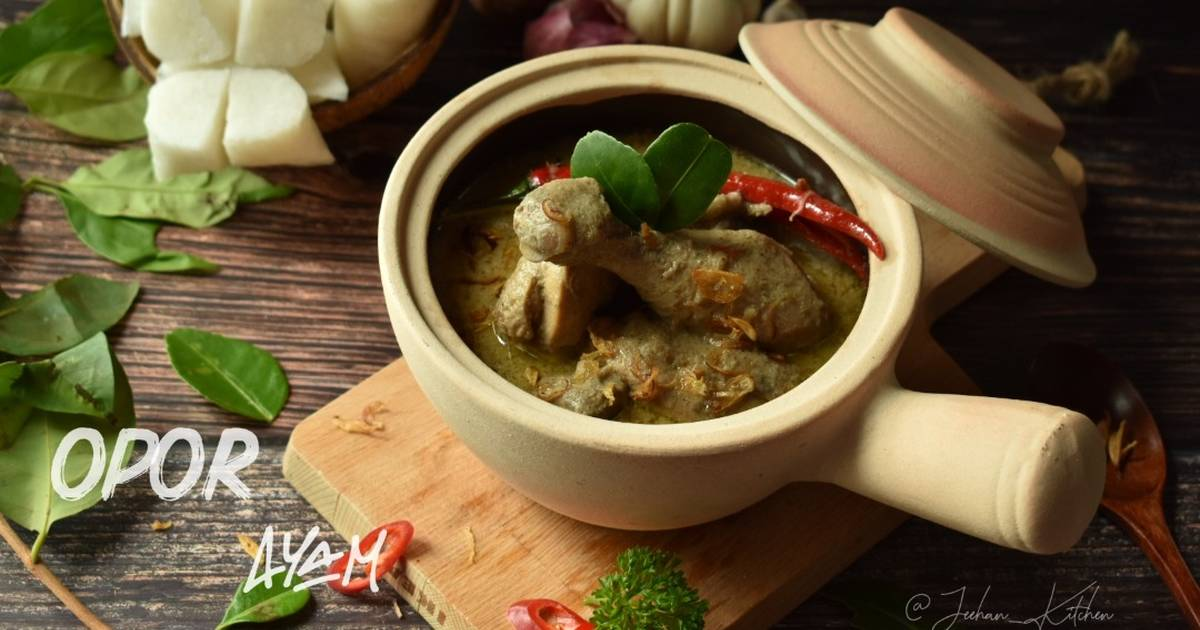 resepi ayam masak opor Resepi Gulai Ayam Chef Wan Enak dan Mudah