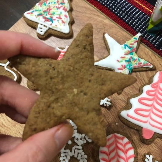 18 μέρες πριν: Φτιάξε Χριστουγεννιάτικα μπισκότα