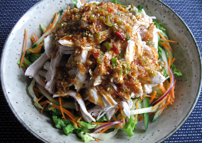 Chicken Salad With Spicy Sauce