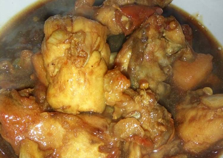 Ayam Kecap Praktis