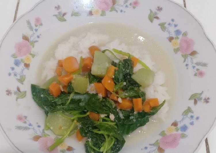Sayur Bobor Bayam