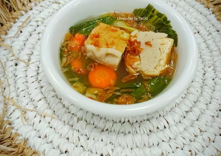Soup Tahu Bakso Sayuran