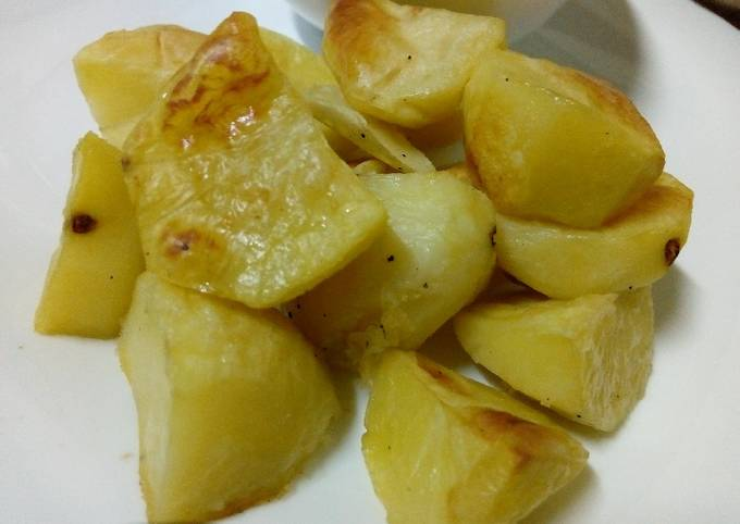 Oven grilled potatoes