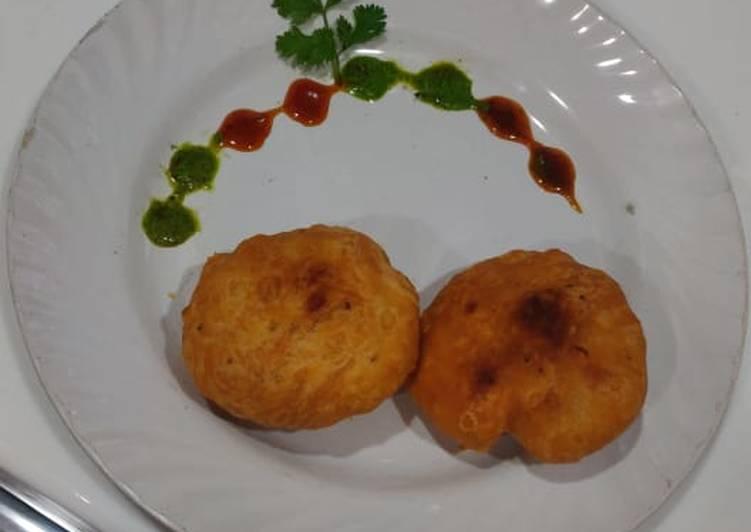 Easiest Way to Prepare Ultimate Khasta veggi Aloo kachori