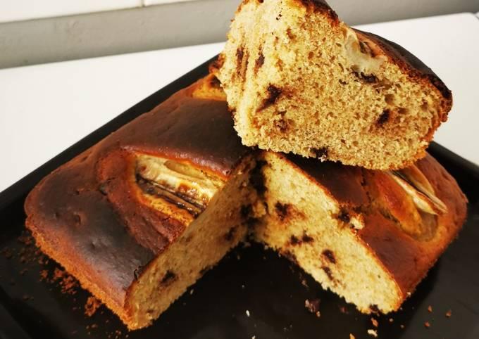 Gâteau yaourt façon banana bread
