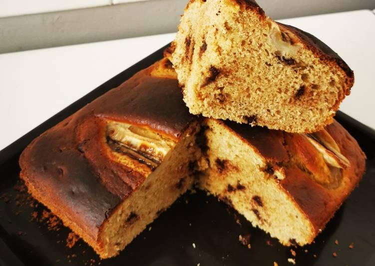 Étapes pour Préparer Parfait Gâteau yaourt façon banana bread