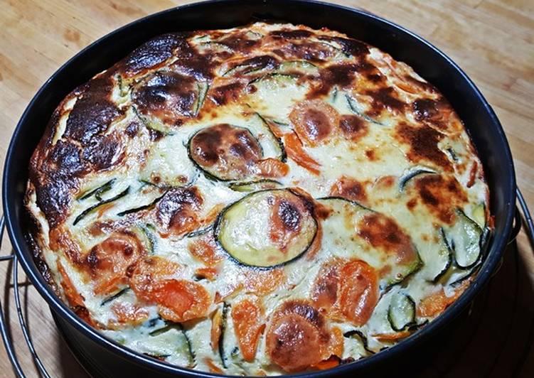 How to Cook Yummy Französische Zucchini-Möhren-Quiche