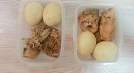 Hình ảnh món Gà kho trứng mật ong gừng (Meal prep)