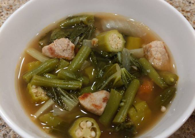 Easiest Way to Make Homemade Sinigang (sour soup)