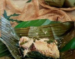 Bothok Teri Pepaya Jepang (masakan rumah sederhana)
