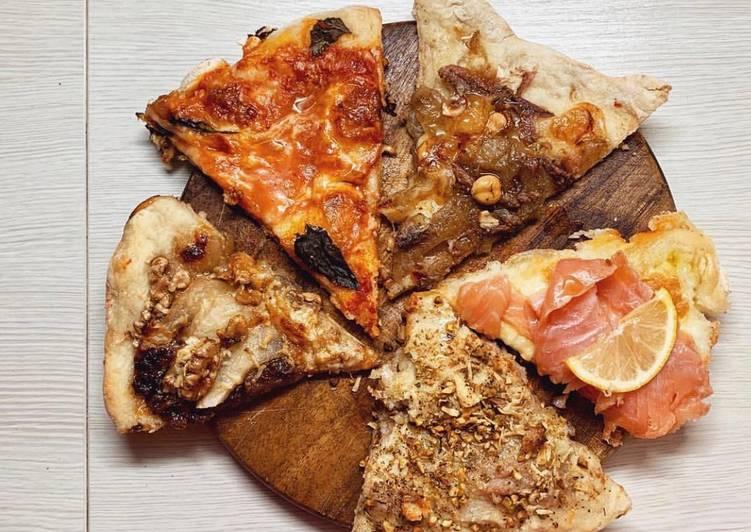 Ricetta Pizza gourmet