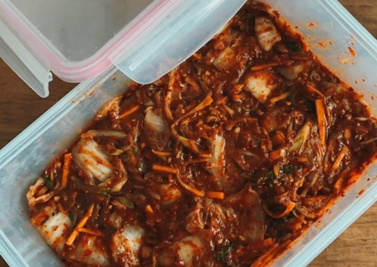 Mak-kimchi (vegan friendly)