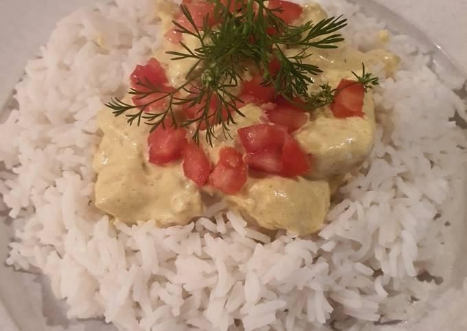 Poulet au curry express