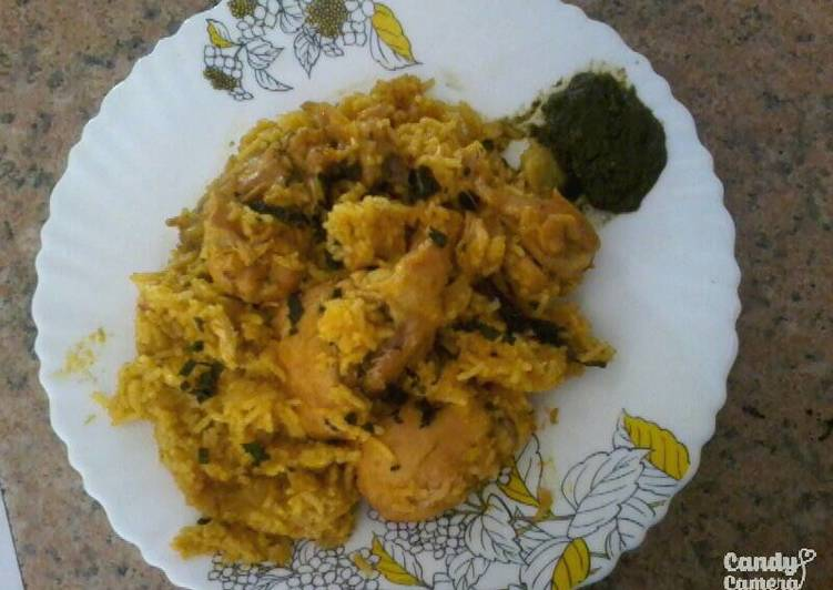 Indian Style Pilau (Chicken with Rice)