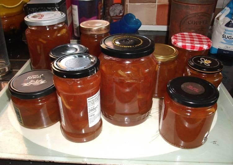 How to Make Super Quick Homemade Seville orange marmalade