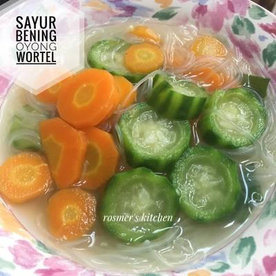Resep Sayur Bening Oyong Wortel Oleh Rosmer S Kitchen Cookpad