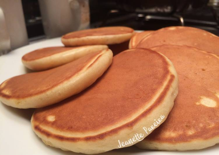 Resep Pancake Mudah Fluffy Oleh Jeanette Pareira Cookpad