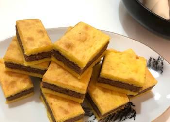 How to Make Appetizing Three Layers Cake Kue Lapis Surabaya