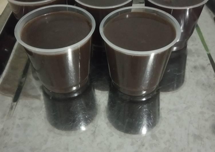 Soft Chocolate Milk Pudding