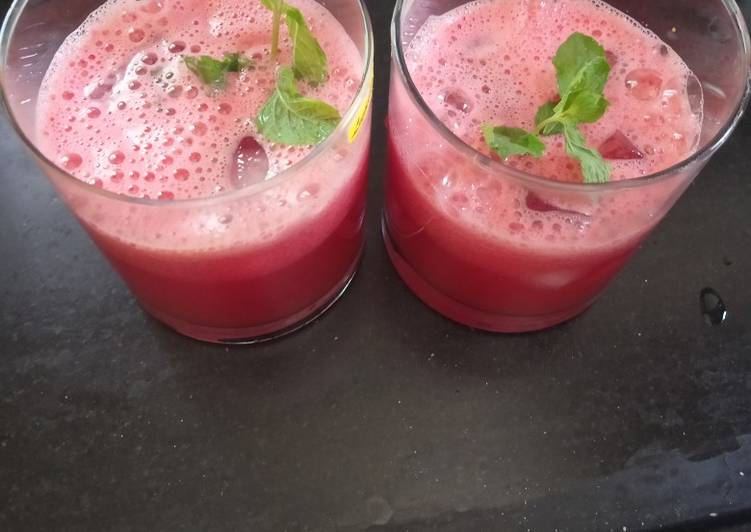 How to Cook Appetizing Watermelon, refreshing juice summer special