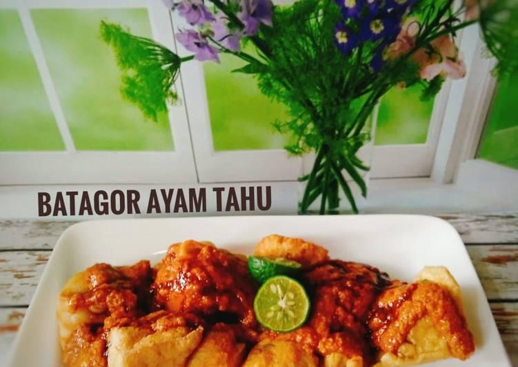 Batagor Ayam Tahu