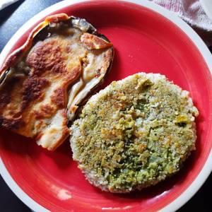 Brócoli tres en uno (Torrejas, hamburguesas y al gratén)