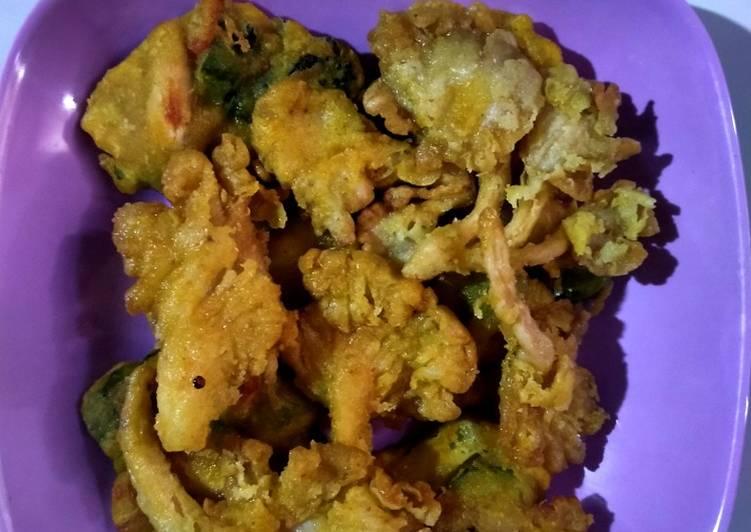 Jamur crispy (jamur tiram) - cookandrecipe.com