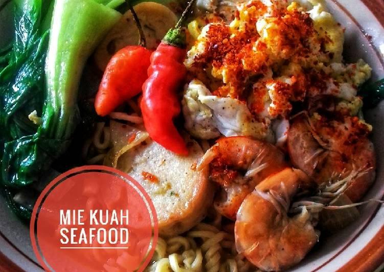 Mie kuah seafood