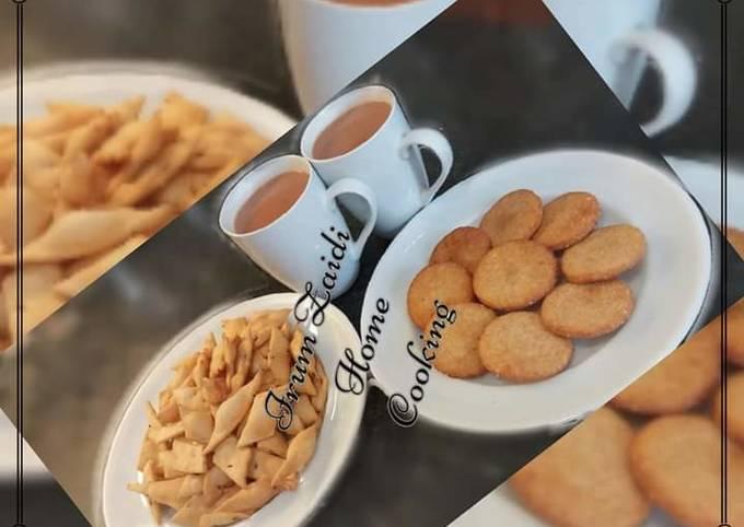 🍩MEETHI TIKIYAA🍩 (semolina & flour biscuit)