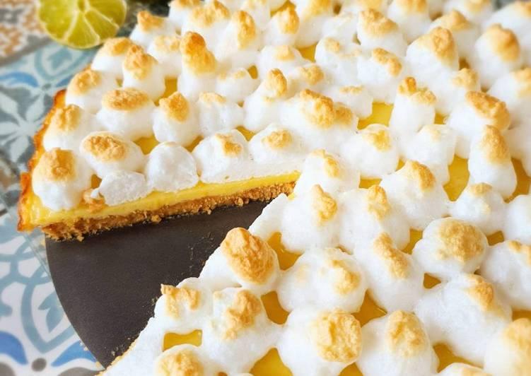 Pie de limón - Lateinamerikanischer Limettenkuchen