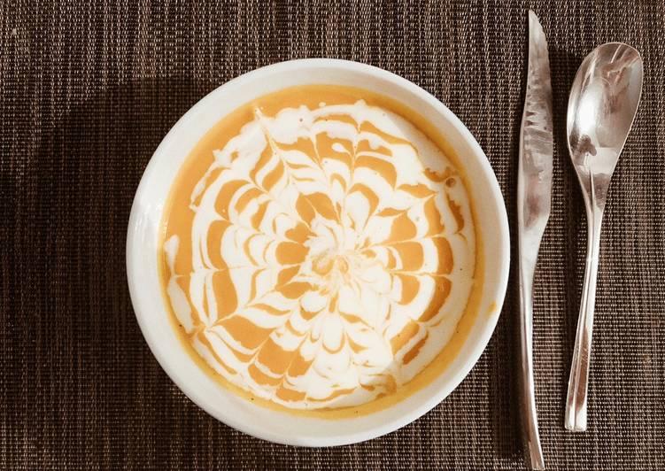 Comment Cuisiner Savoureux Soupe potiron 🦊