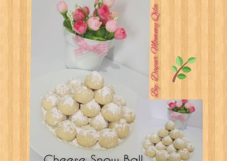 Bagaimana Caranya Mempersiapkan Sempurna Cheese Snow Ball (renyah & Lembut)