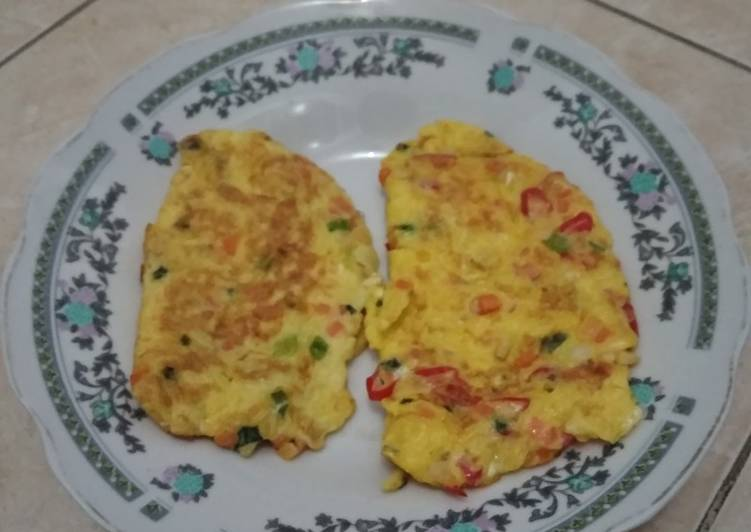 Resep Omelette Bikin Ngiler
